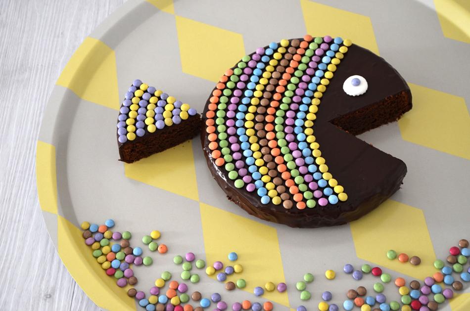 gateau anniversaire poisson