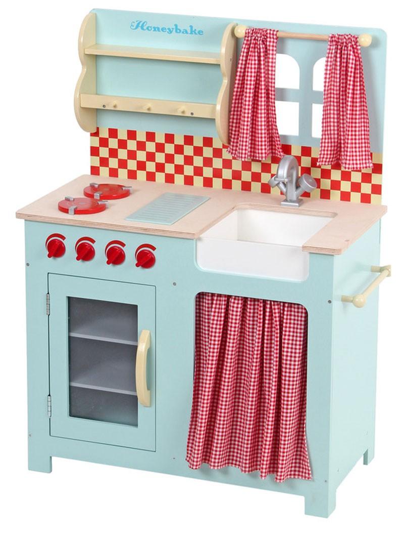 cuisine en bois vertbaudet