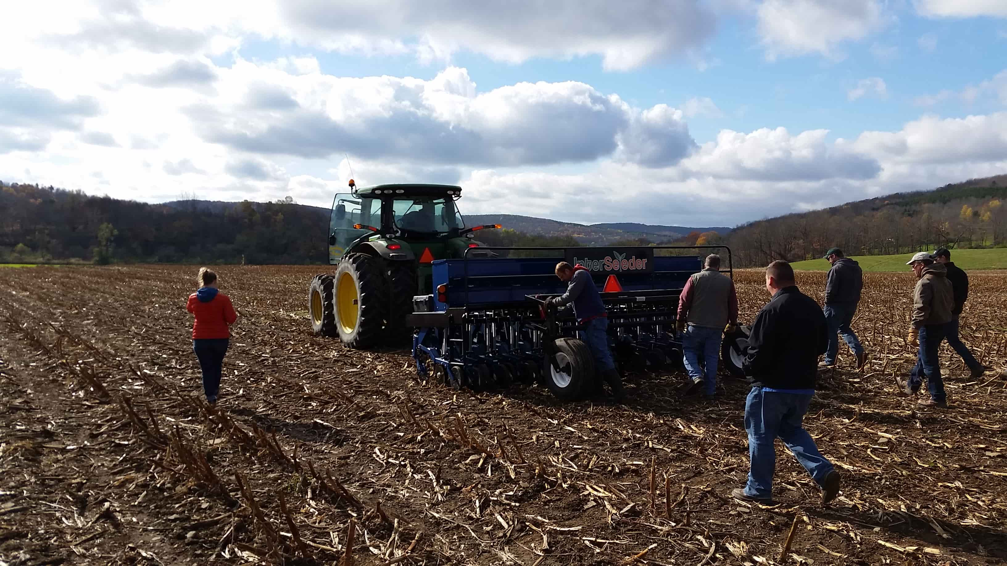 Interseeder Program Monroe County Soil Amp Water