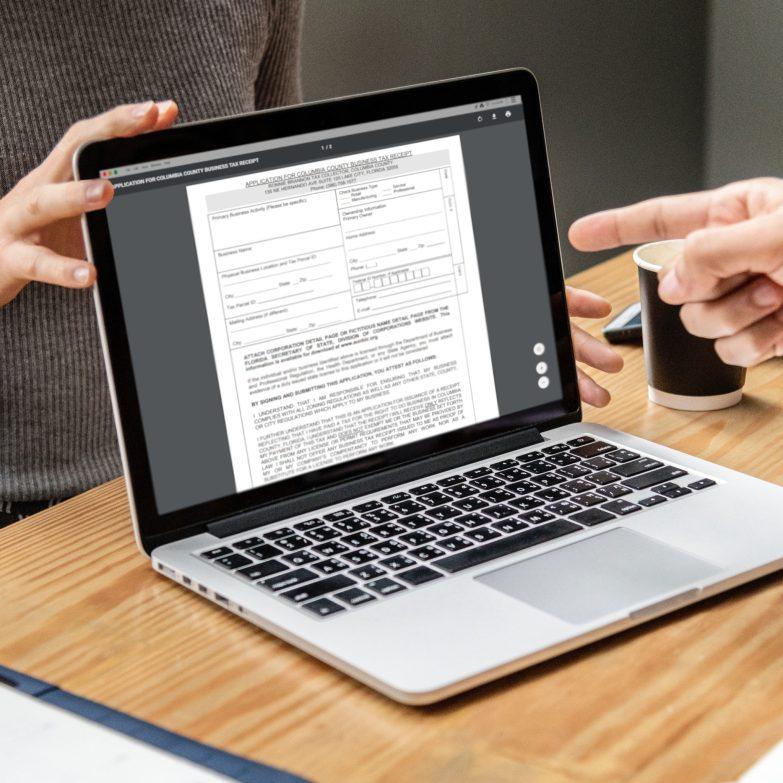 Business Tax Receipts