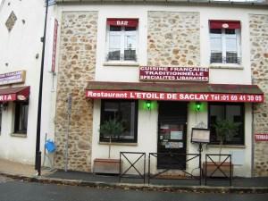 restaurant Etoile de Saclay