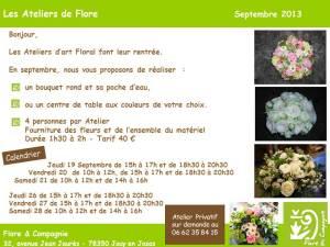 Art Floral Septembre 2013