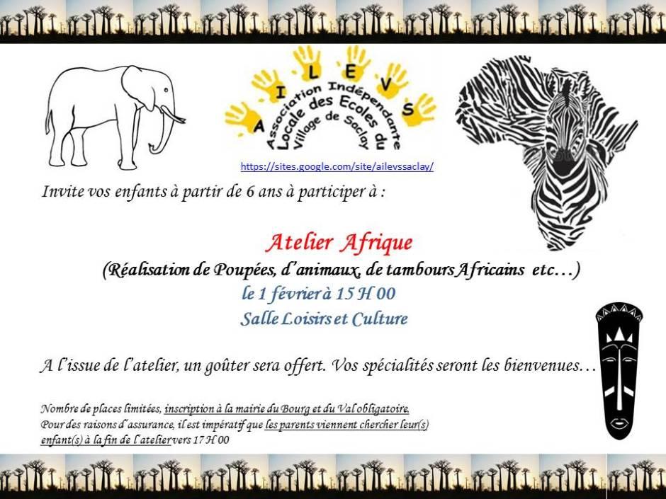 atelier Afrique
