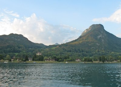 Lac Annecy vue