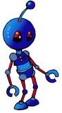 Robot in colour copy