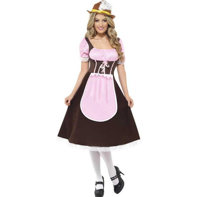robe deguisement serveuse oktoberfest