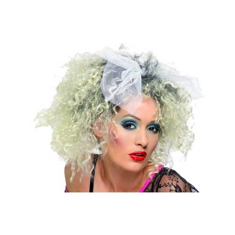 Perruque dguisement chanteuse annes 80  Perruque la Madone