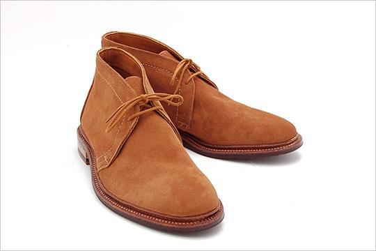 Chaussures chukkas suede marron
