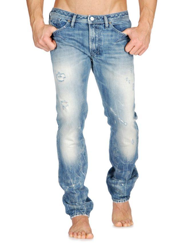 Jeans Diesel délavé coupe Skinny