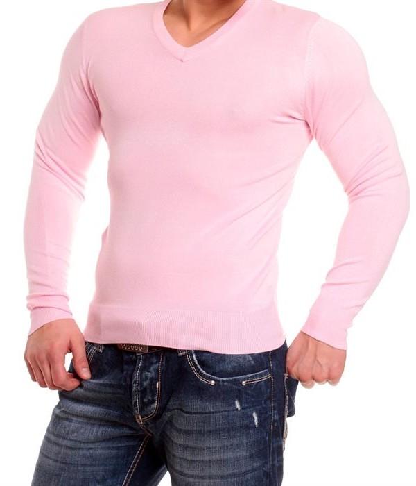 pull col v rose trop petit dlg fashion