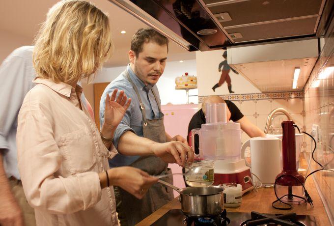 Kevin Fassio atelier cuisine vegetal semaine du sans gluten 2015