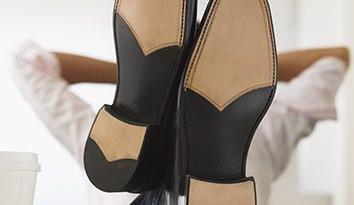 Bien et relax avec ses chaussures neuves