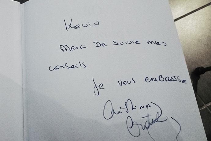 Livre dédicacé Cristina Cordula Monsieur Style