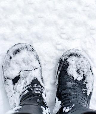 de sur chaussures traces ses les Enlever sel Monsieur Style OPXZkiu