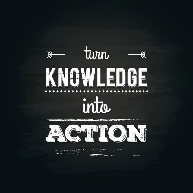 Transformer le savoir en action