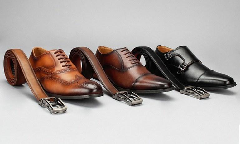 associer chaussures avec ceintures
