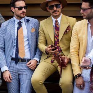3 styles pour homme au Pitti Uomo