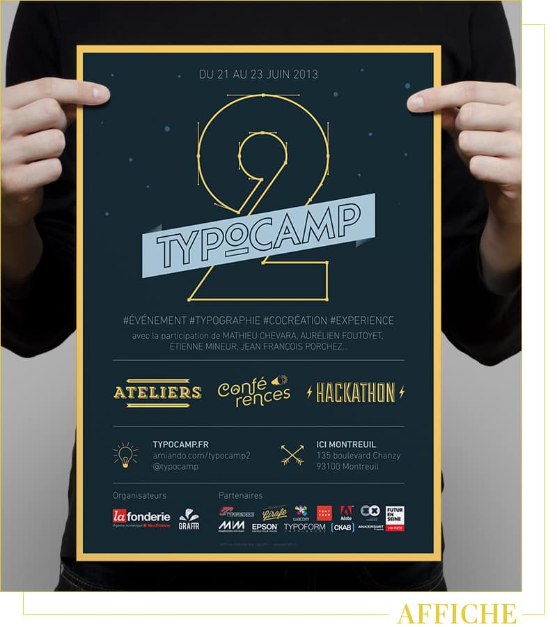 poster typocamp 2013