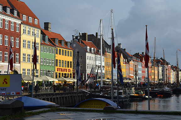 Afbeelding de kleurrijke Nyhavn in Kopenhagen