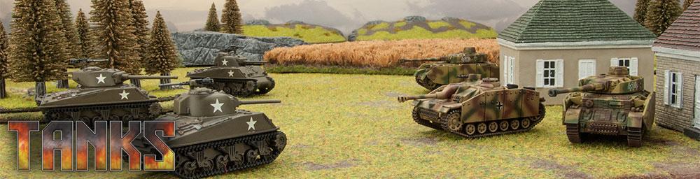 Tanks, le jeu de combat de chars de la seconde Guerre Mondiale