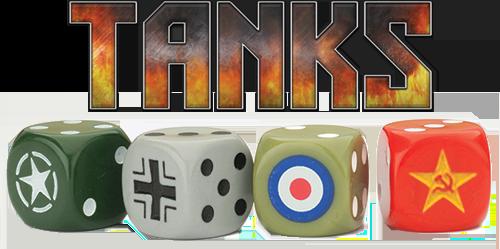 Tanks - Les extensions de dés personnalisés par nation
