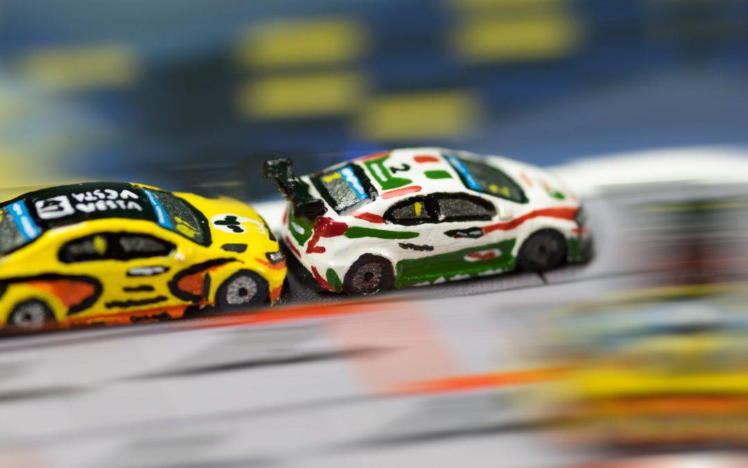 Formula D et les voitures de Micro Racing Cars