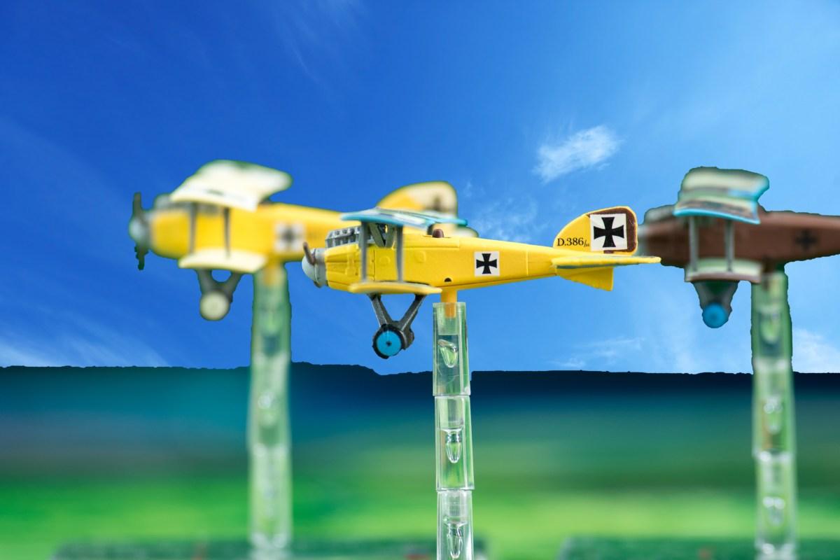 Albatros D.II en formation