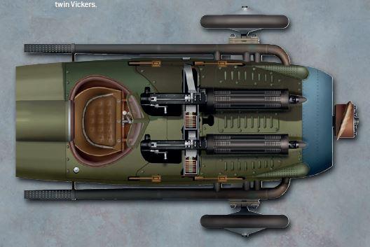 Les deux Vickers du Spad 13
