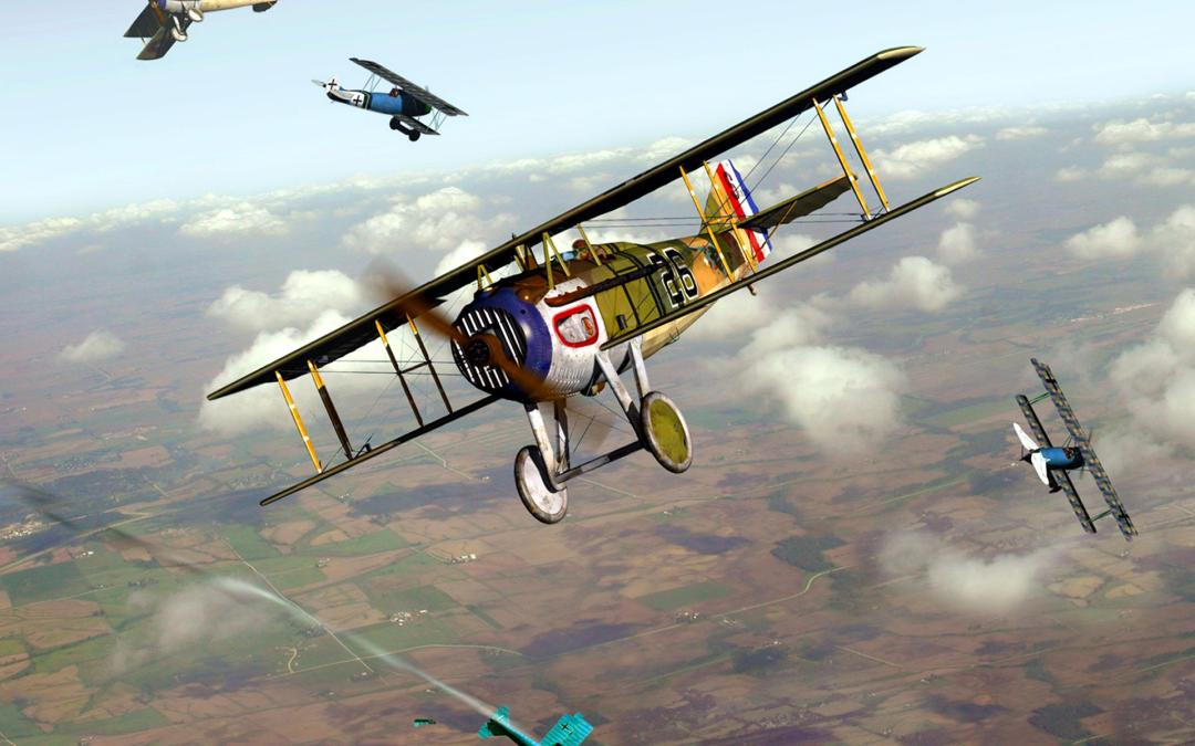Les avions de Wings of Glory WW1 : Les SPAD
