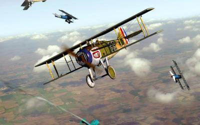 Les avions de Wings of Glory WW1 : Les SPAD