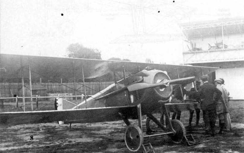 Le Spad 7 immatriculé S.111