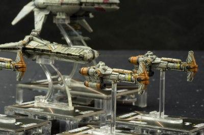 Star Wars Armada-Corvette Hammerhead- 1