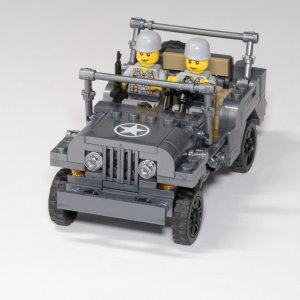 Jeep Willys - 199 pièces