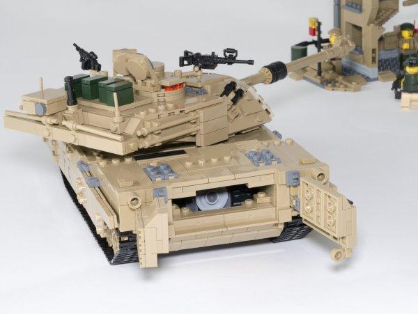 M1A2 ABRAMS - Collector 1463 pièces