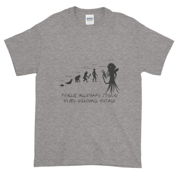 T-Shirt Cthulhu Évolution