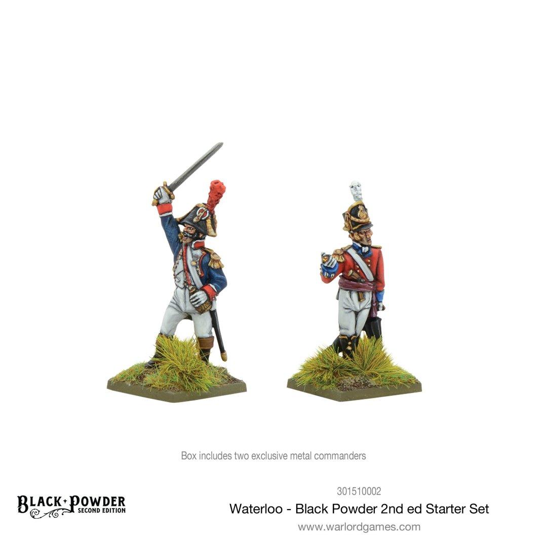 Les deux commandants du Starter Set Waterloo