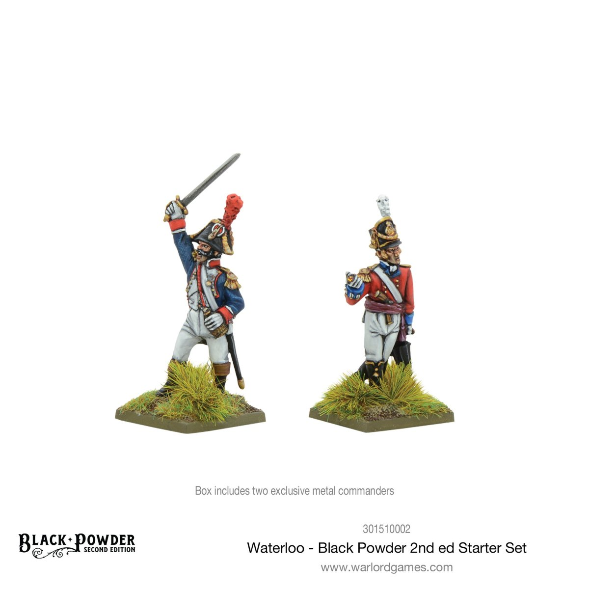 Les deux commandants du Starter Set Waterloo