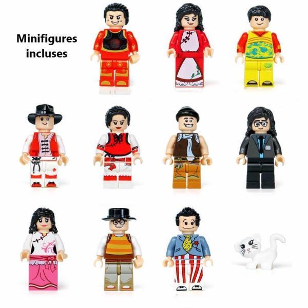 Boutique chinoise de tissus - 2787 pièces