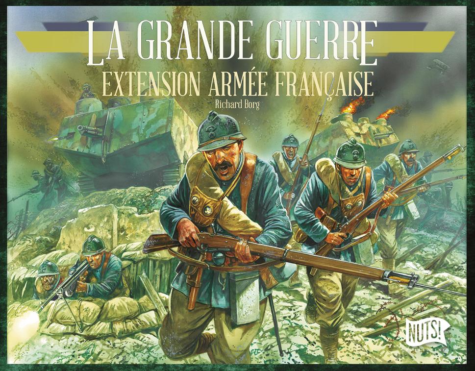 Boîte La Grande Guerre Extension Armée Française