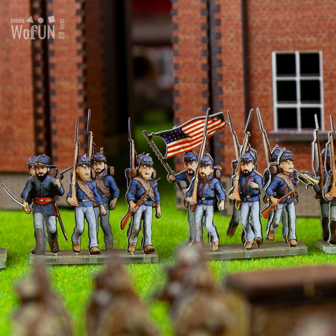 Soldats de l'Union 28mm
