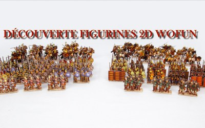 Les figurines 2D de Wofun Games