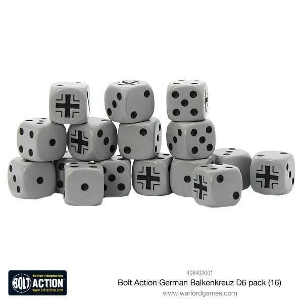 Bolt Action German Balkenkreuz D6 pack