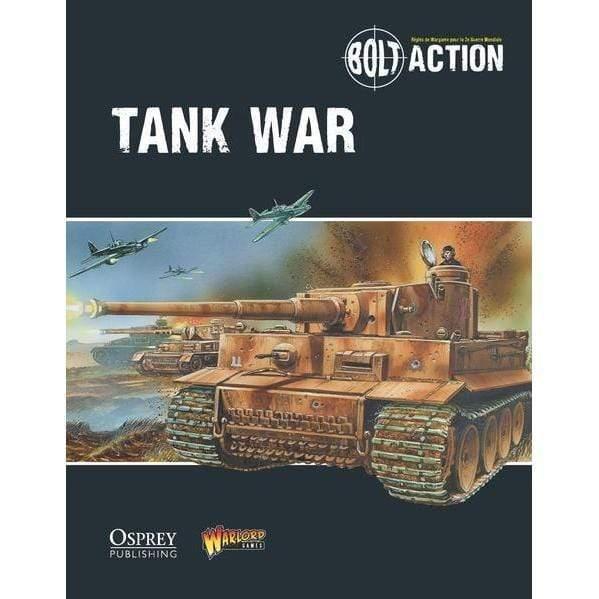 Livre Tank War VF - Bolt Action