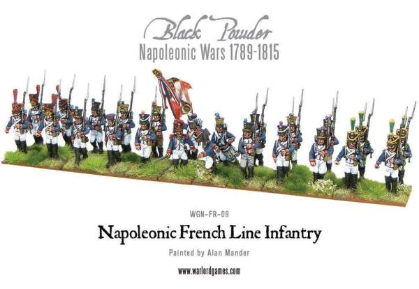 Napoleonic French Line Infantry 1806-1810