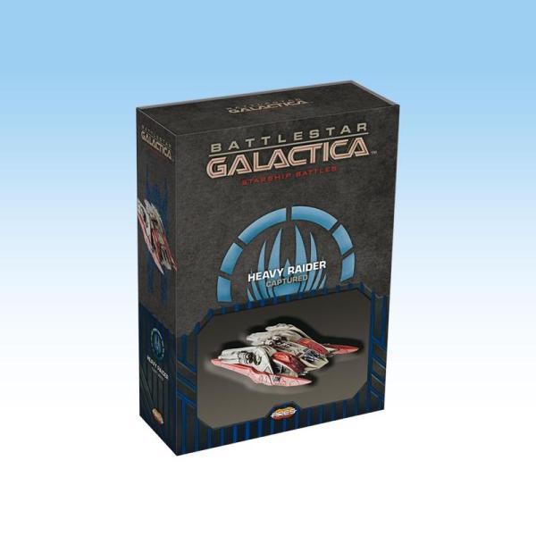 Battlestar Galactica Starship Battles - Spaceship Pack: Cylon Heavy Raider capturé (Athena)