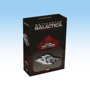 Battlestar Galactica Starship Battles - Spaceship Pack: Cylon Heavy Raider (Combat/Transport)