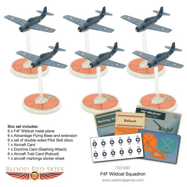 Blood Red Skies - F4F Wildcat squadron