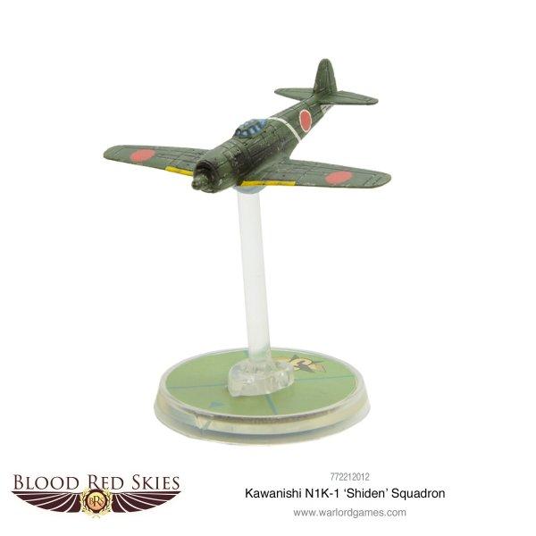 Blood Red Skies - Kawanishi N1K-1 'Shiden' Squadron