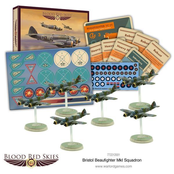Blood Red Skies - Bristol Beaufighter squadron
