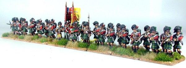 British Napoleonic Highlander Centre Companies